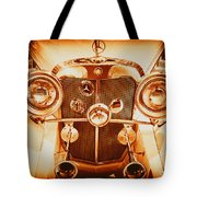 Solid Gold Mercedes Tote Bag