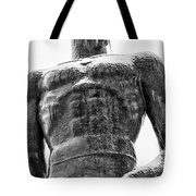 Solid Sparty Face Tote Bag