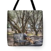 Solitaire Reading Tote Bag