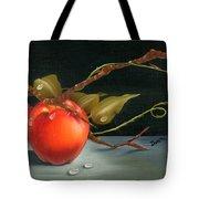 Solitary Apples Tote Bag