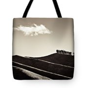 Solitary Cloud Tote Bag