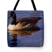Solitary Goose Tote Bag