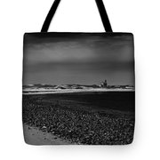 Solitary Lighthouse Tote Bag