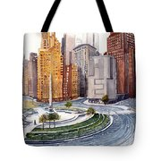 Solitary Nyc Tote Bag