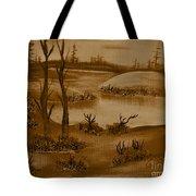 Solitude Of Winter Tote Bag