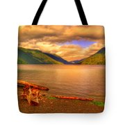 Solitude On Crescent Lake Tote Bag