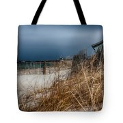 Solitude On The Cape Tote Bag by Jeff Folger