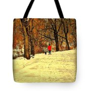 Solitude With A Friend Tote Bag