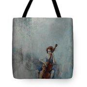 Solo Celloist Tote Bag