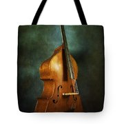 Solo Upright Bass Tote Bag