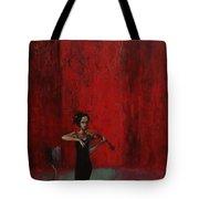 Solo Violinist Tote Bag