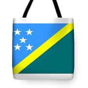 Solomon Island Flag Tote Bag