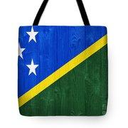 Solomon Islands Flag Tote Bag