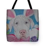 Some Bunny Says Spring Has Sprung Tote Bag