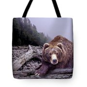 Some Days You Eat The Bear Some Days The Bear Eats You Tote Bag