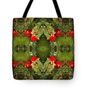 Some Of The Colors Of Christmas Altered Version  Tote Bag