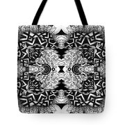 Some Reflections - A Lines And Dots And Gradual Shadings Compilation Tote Bag