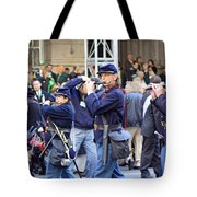 Some Revolutionary Flutiest Playing In The 2009 New York St. Patrick Day Parade Tote Bag