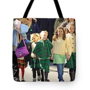 Some Sisters Enjoying Themselves At The 2009 New York St. Patrick Day Parade Tote Bag