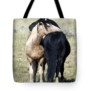 Somebody To Lean On Tote Bag