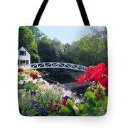 Somesville Bridge And Home Tote Bag