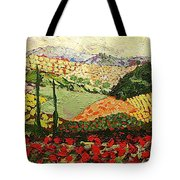 Something Red Tote Bag