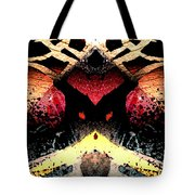 Somewhere Between Above And Below Tote Bag
