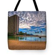 Somewhere In Honolulu Tote Bag
