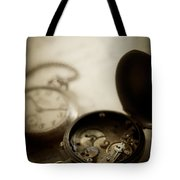 Somewhere In Time Tote Bag by Amy Weiss