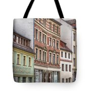 Somewhere In Town Tote Bag