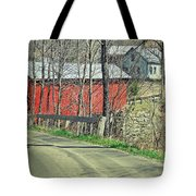 Somewhere In Vermont Tote Bag