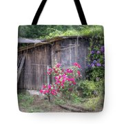 Somewhere Near Geyserville Ca Tote Bag by Joan Carroll