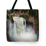 Somewhere Over The Falls Tote Bag