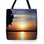 Somewhere Sunset  Tote Bag