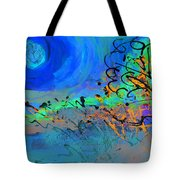 Somewhere The Sun Tote Bag