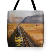 Somewhere West Of Corning Tote Bag
