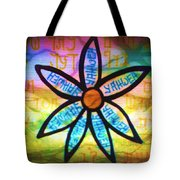 Son Flower Tote Bag