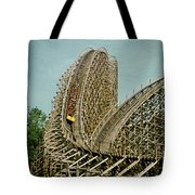 Son Of Beast Roller Coaster Tote Bag