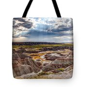 Son Over The Badlands Tote Bag