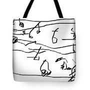 Song Tote Bag