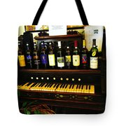 Song And Wine Tote Bag