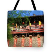 Song Dynasty Town In Dali 2 Tote Bag