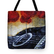 Song Of Seasons II Tote Bag by Vickie Warner
