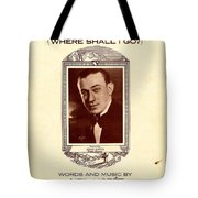 Song Of The Wanderer Tote Bag
