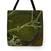 Songbird Green Tote Bag