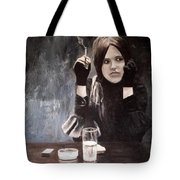 Sonja In Grisaille Tote Bag