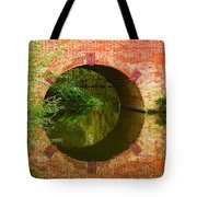 Sonning Bridge On The River Thames Tote Bag