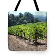 Sonoma Vineyards In The Sonoma California Wine Country 5d24512 Tote Bag