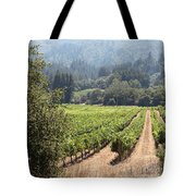 Sonoma Vineyards In The Sonoma California Wine Country 5d24515 Square Tote Bag