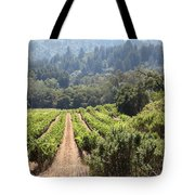 Sonoma Vineyards In The Sonoma California Wine Country 5d24518 Tote Bag